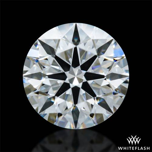 0.322 ct F VS1 A CUT ABOVE® Hearts and Arrows Super Ideal Round Cut Loose Diamond