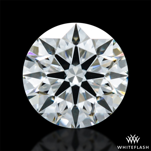 0.316 ct F VS1 A CUT ABOVE® Hearts and Arrows Super Ideal Round Cut Loose Diamond