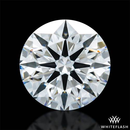 0.318 ct F VS2 A CUT ABOVE® Hearts and Arrows Super Ideal Round Cut Loose Diamond