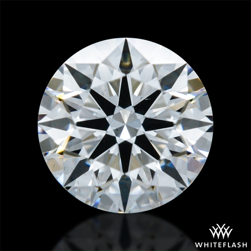 0.304 ct F VS2 A CUT ABOVE® Hearts and Arrows Super Ideal Round Cut Loose Diamond