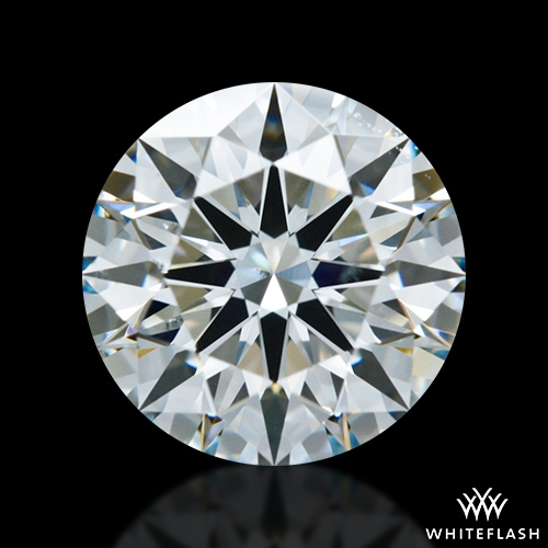 1.316 ct I VS2 A CUT ABOVE® Hearts and Arrows Super Ideal Round Cut Loose Diamond