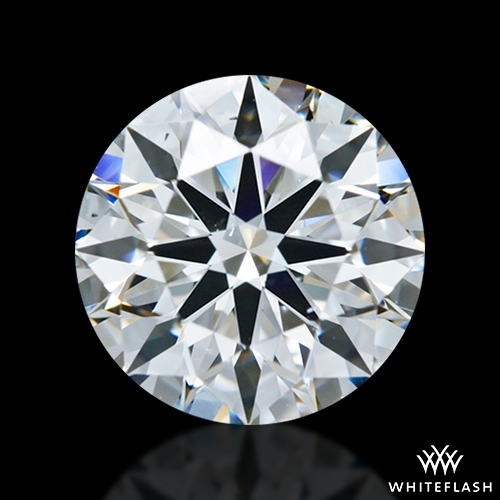 1.504 ct F VS2 A CUT ABOVE® Hearts and Arrows Super Ideal Round Cut Loose Diamond