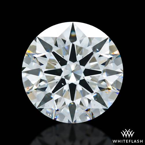 1.937 ct G SI1 A CUT ABOVE® Hearts and Arrows Super Ideal Round Cut Loose Diamond