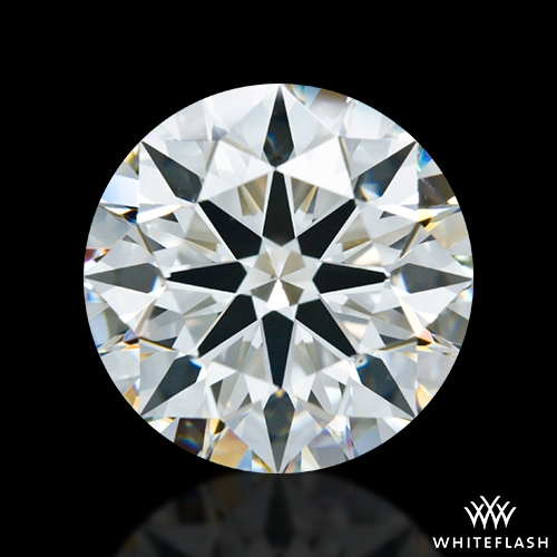 2.66 ct J VS2 A CUT ABOVE® Hearts and Arrows Super Ideal Round Cut Loose Diamond