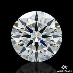 0.926 ct E VVS1 A CUT ABOVE® Hearts and Arrows Super Ideal Round Cut Loose Diamond