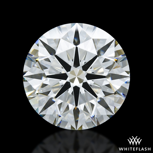 4.071 ct I VS1 A CUT ABOVE® Hearts and Arrows Super Ideal Round Cut Loose Diamond