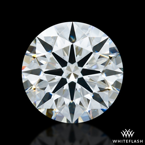 1.183 ct G VS2 A CUT ABOVE® Hearts and Arrows Super Ideal Round Cut Loose Diamond