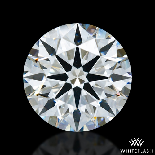 1.312 ct F VS1 A CUT ABOVE® Hearts and Arrows Super Ideal Round Cut Loose Diamond