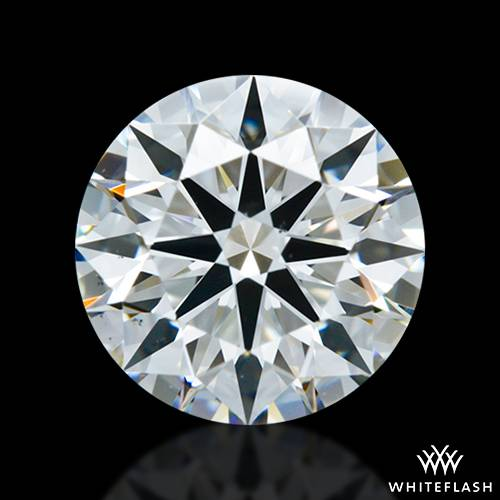 1.37 ct H VS1 A CUT ABOVE® Hearts and Arrows Super Ideal Round Cut Loose Diamond