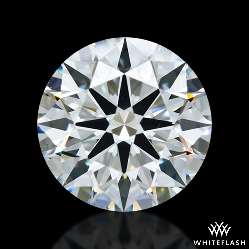 1.403 ct G VS2 A CUT ABOVE® Hearts and Arrows Super Ideal Round Cut Loose Diamond