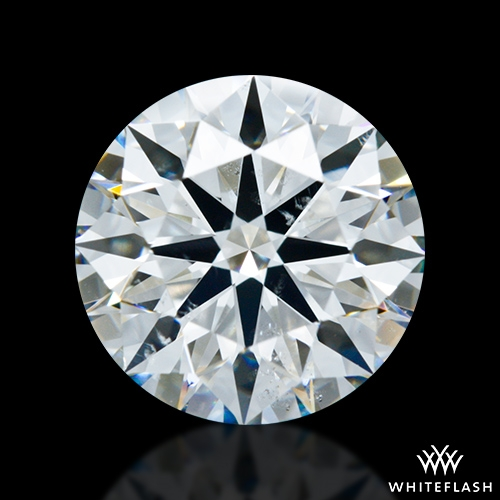 1.746 ct H SI1 A CUT ABOVE® Hearts and Arrows Super Ideal Round Cut Loose Diamond