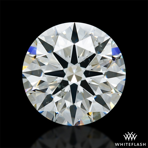 1.803 ct H SI1 A CUT ABOVE® Hearts and Arrows Super Ideal Round Cut Loose Diamond