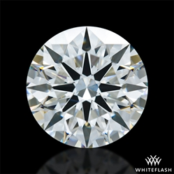 1.39 ct H VS2 A CUT ABOVE® Hearts and Arrows Super Ideal Round Cut Loose Diamond