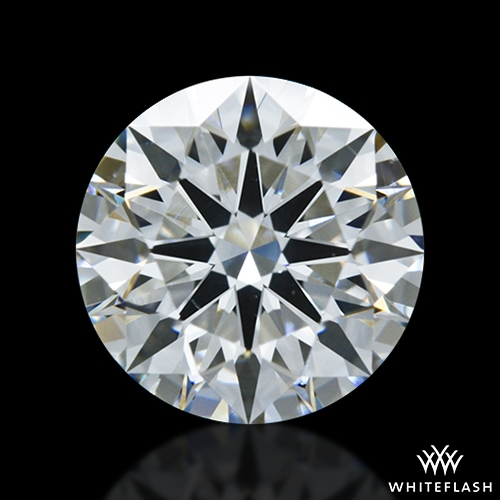 1.398 ct G VS2 A CUT ABOVE® Hearts and Arrows Super Ideal Round Cut Loose Diamond