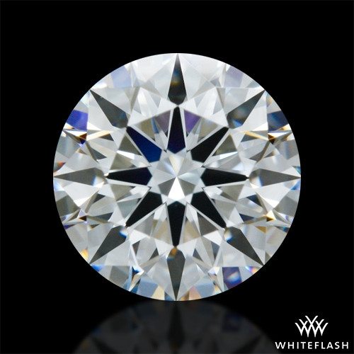 0.801 ct E VVS1 A CUT ABOVE® Hearts and Arrows Super Ideal Round Cut Loose Diamond