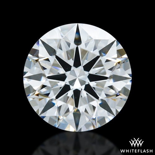 0.83 ct F VS1 A CUT ABOVE® Hearts and Arrows Super Ideal Round Cut Loose Diamond