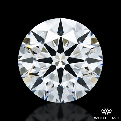 1.323 ct F VS2 A CUT ABOVE® Hearts and Arrows Super Ideal Round Cut Loose Diamond