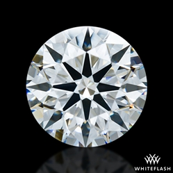 1.411 ct E VS1 A CUT ABOVE® Hearts and Arrows Super Ideal Round Cut Loose Diamond