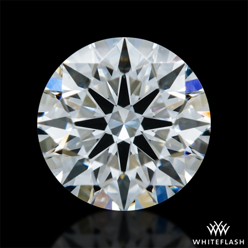 0.402 ct F VS1 A CUT ABOVE® Hearts and Arrows Super Ideal Round Cut Loose Diamond