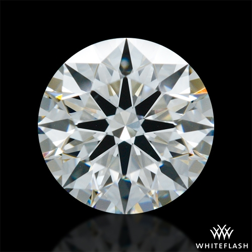 0.704 ct G VS2 A CUT ABOVE® Hearts and Arrows Super Ideal Round Cut Loose Diamond