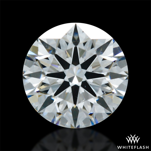 0.523 ct F SI1 A CUT ABOVE® Hearts and Arrows Super Ideal Round Cut Loose Diamond