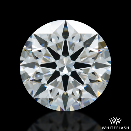 0.506 ct F VS2 A CUT ABOVE® Hearts and Arrows Super Ideal Round Cut Loose Diamond