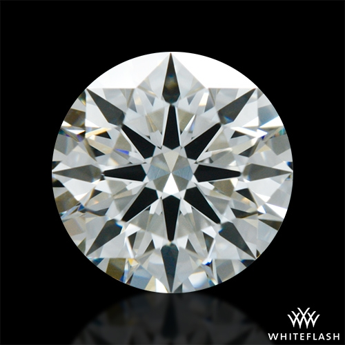 0.704 ct J VS2 A CUT ABOVE® Hearts and Arrows Super Ideal Round Cut Loose Diamond