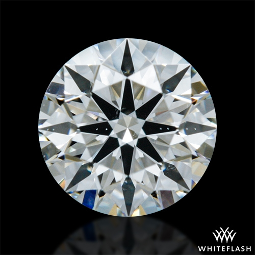 0.355 ct I SI1 A CUT ABOVE® Hearts and Arrows Super Ideal Round Cut Loose Diamond
