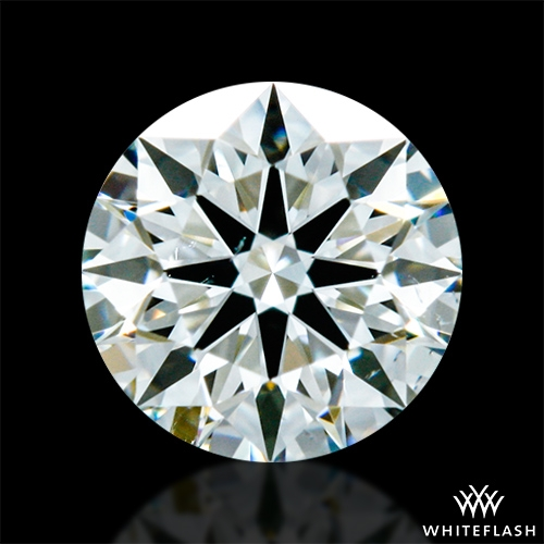 0.34 ct J SI1 A CUT ABOVE® Hearts and Arrows Super Ideal Round Cut Loose Diamond