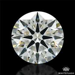 0.758 ct J SI1 A CUT ABOVE® Hearts and Arrows Super Ideal Round Cut Loose Diamond