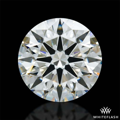 1.013 ct F VS2 A CUT ABOVE® Hearts and Arrows Super Ideal Round Cut Loose Diamond