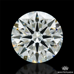 1.002 ct J VS2 A CUT ABOVE® Hearts and Arrows Super Ideal Round Cut Loose Diamond