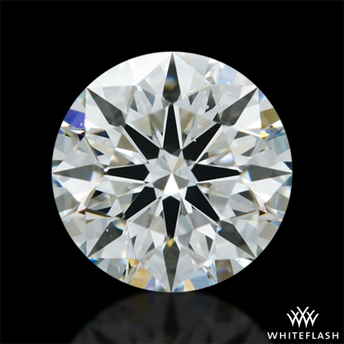 0.907 ct G VS2 A CUT ABOVE® Hearts and Arrows Super Ideal Round Cut Loose Diamond