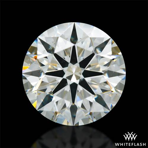 1.016 ct J SI1 A CUT ABOVE® Hearts and Arrows Super Ideal Round Cut Loose Diamond