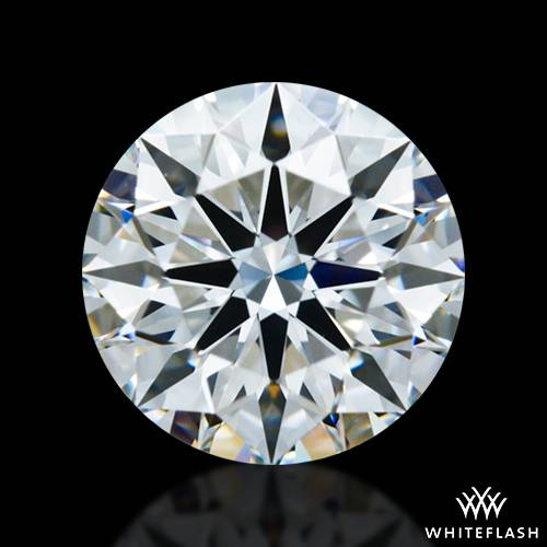 0.821 ct F IF A CUT ABOVE® Hearts and Arrows Super Ideal Round Cut Loose Diamond
