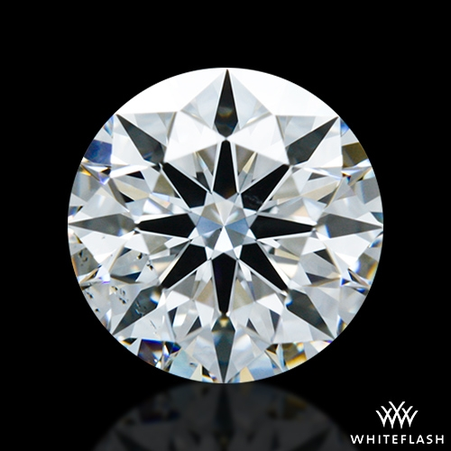 0.804 ct E VS2 A CUT ABOVE® Hearts and Arrows Super Ideal Round Cut Loose Diamond