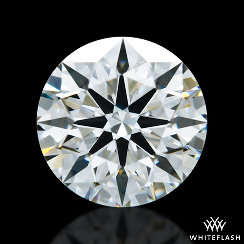 0.90 ct H VS1 A CUT ABOVE® Hearts and Arrows Super Ideal Round Cut Loose Diamond