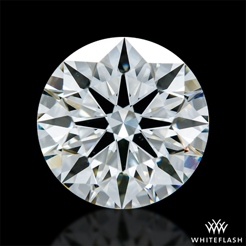 2.447 ct J VS2 A CUT ABOVE® Hearts and Arrows Super Ideal Round Cut Loose Diamond