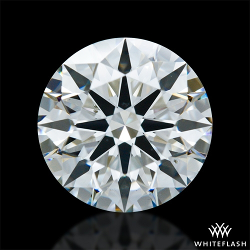 1.23 ct J VS2 A CUT ABOVE® Hearts and Arrows Super Ideal Round Cut Loose Diamond