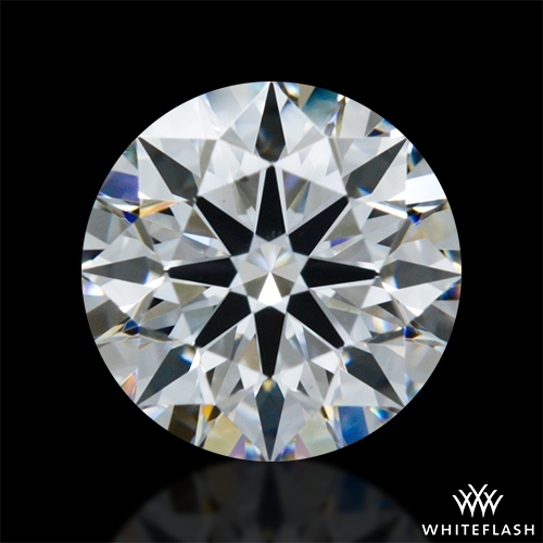 0.904 ct E VS2 A CUT ABOVE® Hearts and Arrows Super Ideal Round Cut Loose Diamond