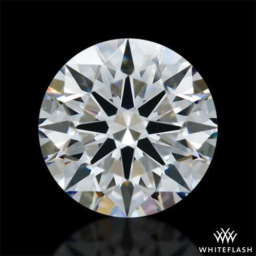 0.697 ct G VS1 A CUT ABOVE® Hearts and Arrows Super Ideal Round Cut Loose Diamond