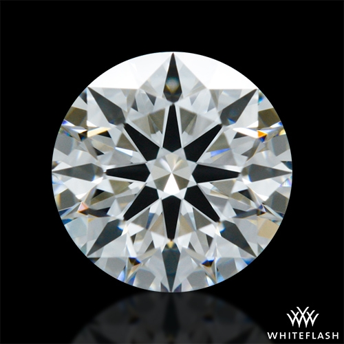 0.786 ct H VS1 A CUT ABOVE® Hearts and Arrows Super Ideal Round Cut Loose Diamond