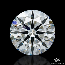 0.523 ct G SI1 A CUT ABOVE® Hearts and Arrows Super Ideal Round Cut Loose Diamond
