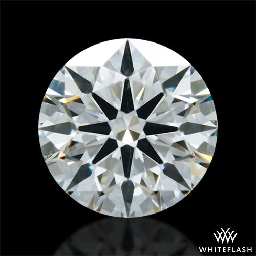 0.512 ct I SI1 A CUT ABOVE® Hearts and Arrows Super Ideal Round Cut Loose Diamond