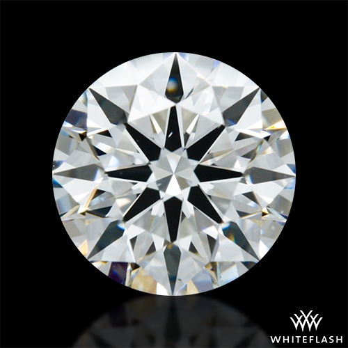 1.071 ct F VS2 A CUT ABOVE® Hearts and Arrows Super Ideal Round Cut Loose Diamond
