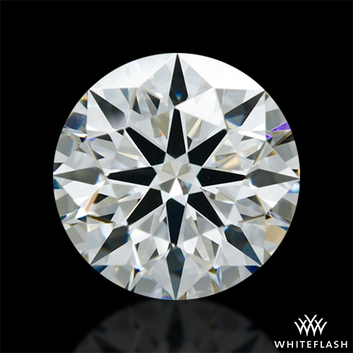 1.232 ct H VS1 A CUT ABOVE® Hearts and Arrows Super Ideal Round Cut Loose Diamond