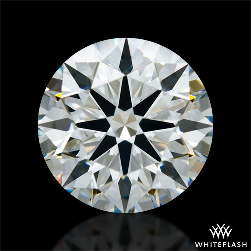 1.253 ct H VS2 A CUT ABOVE® Hearts and Arrows Super Ideal Round Cut Loose Diamond
