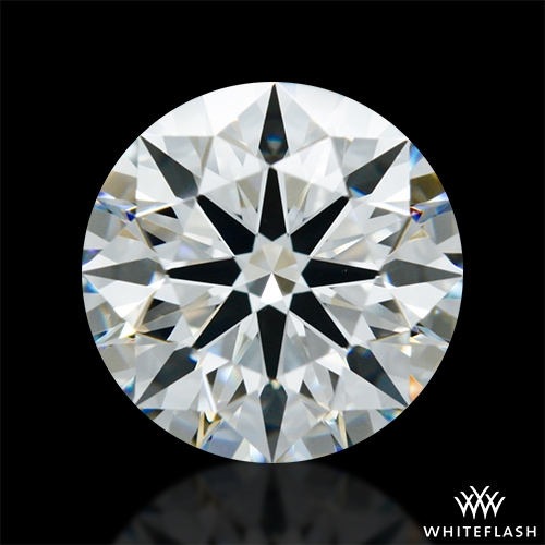 1.348 ct G VS1 A CUT ABOVE® Hearts and Arrows Super Ideal Round Cut Loose Diamond