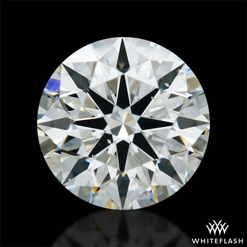 1.343 ct I SI1 A CUT ABOVE® Hearts and Arrows Super Ideal Round Cut Loose Diamond