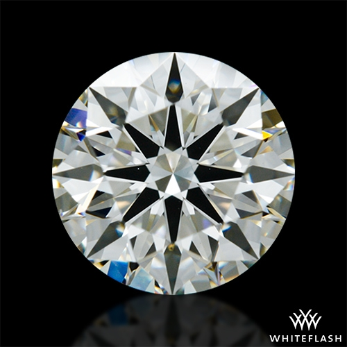 1.406 ct J VS2 A CUT ABOVE® Hearts and Arrows Super Ideal Round Cut Loose Diamond